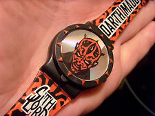 STAR WARS EPISODE I ATTACK OF THE CLONES DART MAUL SITH LORD WATCH, NO BATTERY