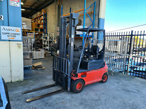Electric Forklift Counter Balanced 4 Wheel Linde E18P 1.8T 3.85m