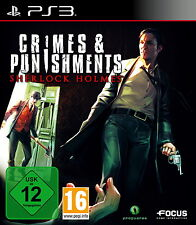 Sherlock Holmes: Crimes & Punishments (Sony PlayStation 3, 2014, DVD-Box)