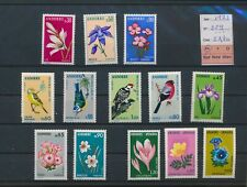 LN83598 Andorra 1973 flowers birds animals fine lot MNH cv 22,4 EUR