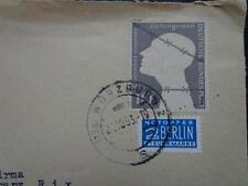 Germany Post War special letter remember the Camp prisoners