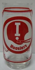 Retro Vtg 1976 Indiana Hoosiers Nebraska Cornhuskers Big 8 Sams Football Glass