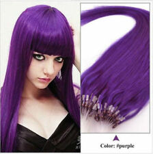 100% Remy Brazilian Human Hair Extensions Micro Ring Bead Tip Easy Loop Hair US