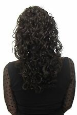 HAIR PIECE PONYTAIL Super Volume Curls Dark Brown approx. 45 cm nc002-4