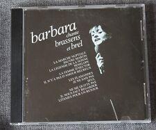 Barbara, chante Brassens et Brel, CD