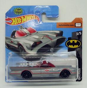1966er TV Series silver Batmobil / Batmobile - Batman - Hot Wheels - Batman Card