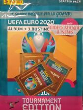 UEFA EURO 2020 TOURNAMENT EDITION ALBUM STARTER PACK .PANINI
