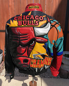 NBA Chicago Bulls Limited Edition Jacket 1997 Signed By Jeff Hamilton