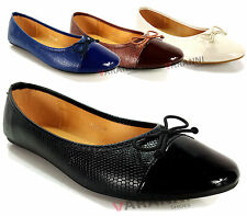 Unbranded Patent Leather Ballerinas for Women