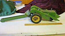 Antique Eska Ertl John Deere Toy Tractor Farm Implement Model 60 Corn Picker