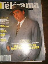 Télérama N° 2078 1989 Jacques Rouffio Orchestre rouge Claude Brasseur Doisneau