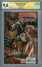 SPIDER-MAN RED SONJA #1 CGC 9.6 SIGNATURE SERIES SIGNED MICHAEL TURNER VENOM
