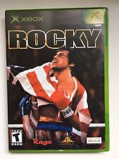 Rocky (Microsoft Xbox, 2002) Complete in Box (Original Case and Manual)