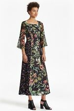 French Connection Floral Pleated Maxi Size 10 NWT