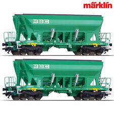 Märklin 45806 Güterwagenset Schüttgutwagen Faccns MBC 2x H0