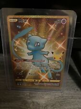 25th anniversary pokemon celebrations Gold Shiny Mew #25/25 *POSSIBLE PSA 10*