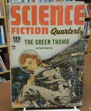 Vintage Pulp Science Fiction Quarterly Vol. 1 No. 2 February 1953 Poul Anderson