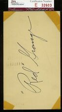 RED GRANGE SIGNED 1952 GPC JSA CERTIFIED AUTHENTIC AUTOGRAPH