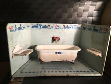 ANTIQUE BATHROOM FOR DOLL HOUSE Primi 900 Germany Forse Göso