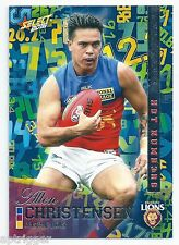 2016 Select Footy Stars Hot Numbers (HN10) Allen CHRISTENSEN Brisbane