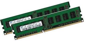 2x 4GB 8GB RAM für Acer Veriton X490G Z431G DDR3 1333 Mhz Speicher PC3-10600U