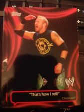 2011 Topps WWE Wrestling Catchy Phrases #CP-7 Christian