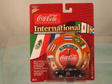 Coca-Cola international 2000 VW Beetle Johnny Lightning 1:64 scale