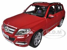 MERCEDES GLK CLASS RED 1/18 DIECAST CAR MODEL BY MAISTO 36200
