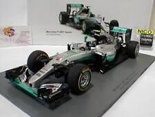 Spark 18S250 -Mercedes F1 W07 Hybrid No6 Abu Dhabi GP F1 2016 Rosberg 1:18