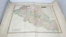 Antique Map Netherlands Engraved by Moffat Thomsons New General Atlas c1817