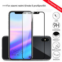 For Xiaomi Redmi Note 6 5 Pro Tempered Glass Film Screen Protector 3D Full Cover