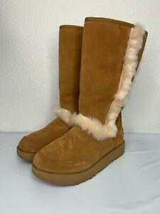 2*45 NEW UGG Sundance Genuine Shearling Waterproof Boot Size 6.5
