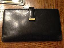 Coach Black Leather Wallet Vintage