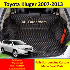 Toyota Kluger 2007-2013 Custom Made Trunk Boot Mats Liner Cargo Mat Cover