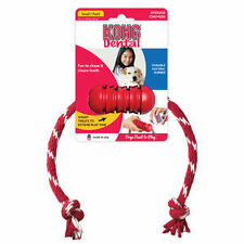 KONG DENTAL WITH ROPE Dog Chew Toy Cleans Teeth Small (DK3)