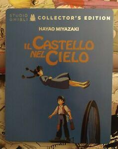 Il CASTELLO NEL CIELO - STEELBOOK (BLU-RAY+DVD) -STUDIO GHIBLI Hayao Miyazaki