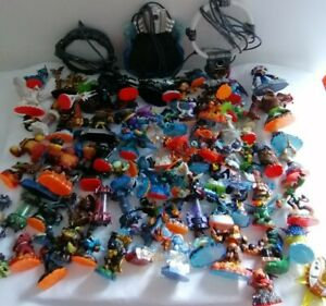 Large Bundle Of Skylander Mixed Figures With 3x Xbox 360 Portals Gaming Kids Toy