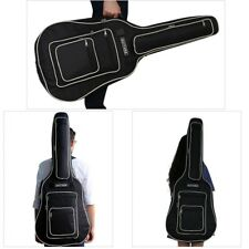 "Waterproof 41"" Acoustic Guitar Bag Padded Bag Double Straps Backpack Soft Case"