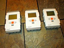 Lot of 3 Lego Mindstorms NXT 2.0 Intelligent Brick frees ship tested work as is