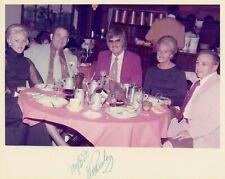 1972 Elvis Presley Signed Autographed Photo BAS BECKETT LOA