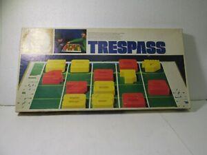 Parker Brothers Trespass Veloce Partita Gioco da Tavolo 1974 gm1267
