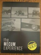 Mecum Auto Auction    Press Kit   Monterey Calif   August 17-19 , 2017