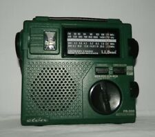 LL Bean Emergency Radio (Eton FR-200) Manual Crank or Battery Worldwide FM/AM/SW