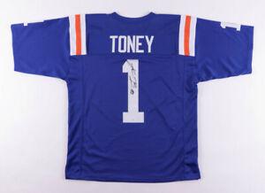 Kadarius Toney Signed Florida Gators Jersey (JSA COA) 1st Rd Pck NY Giants 2021
