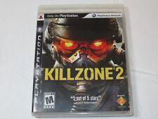 Killzone 2 Sony PlayStation 3 PS3 2009 M-Mature Shooter
