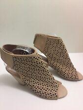 Jeffrey Campbell Great Moments Premier Cutout Sandals Beige Womens Size 8.5