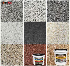 Buntsteinputz Mosaikputz 5 kg - 25 kg / Quarzgrund Profi Qualität -Selbstauswahl