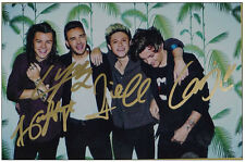 Signed Photo One Direction OneDirection Handsigned Autograph Authentic 1212