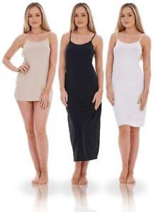 Ladies Lace Cling Resitant Underskirt Anti Static Petticoat Full Slip