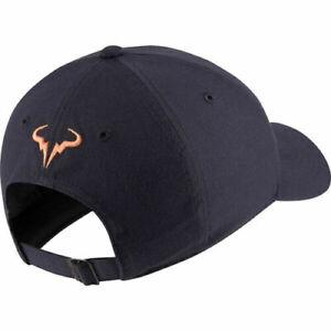Nike Gridiron Cap Rafa Nadal Hat Aerobill Rafael Tennis 850666-017 H86 Unisex